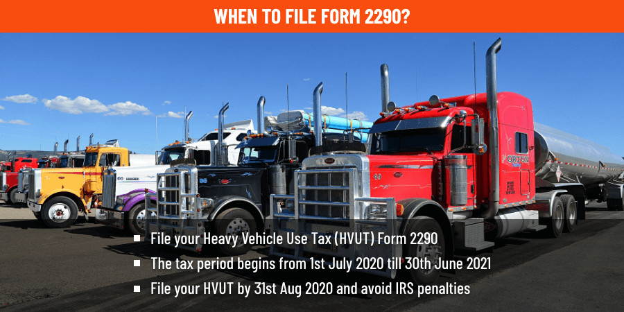 Form 2290 Filing Information Irs Form 2290 Instructions Efrom2290